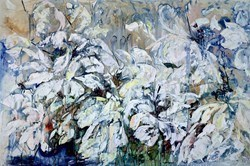 Bloom III by Maya Eventov -  sized 60x40 inches. Available from Whitewall Galleries
